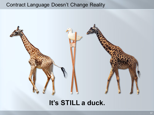 duck on stilts trial graphic